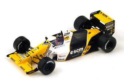 "Minardi M189 ""GP. Japón"" nº 23 Paolo Barilla  (1989) Spark S4112 1:43"