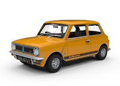 """Mini 1275 GT """"Trevor"""" (1969) Corgi 1:43"""