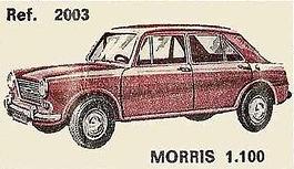 Morris 1100 Nacoral 1/43