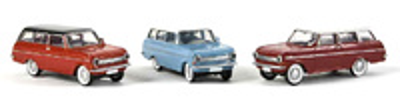 Opel Kadet A Caravan (1965) Drummer-Brekina 1/87