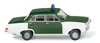 "Opel Rekord A (1963) ""Policia Alemana"" Wiking 1/87"