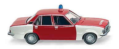 """Opel Rekord D """"Bomberos"""" (1972) Wiking 08611630 1/87"""