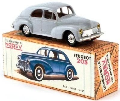 Peugeot 203 (1950) Norev 1/43
