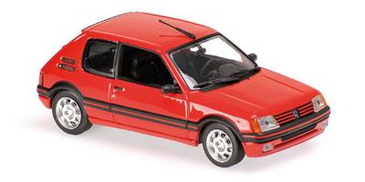 Peugeot 205 GTI (1990) Maxichamps 1/43