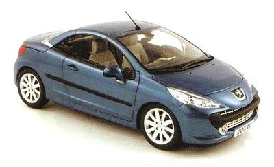 Peugeot 207 CC (2007) Norev 1/18