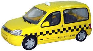 "Peugeot Partner ""Taxi Paris"" (2010) Eligor 1/43"