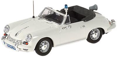 """Porsche 356C Cabrio """"Policia RIJKSPOLITIE"""" Minichamps 1/43"""