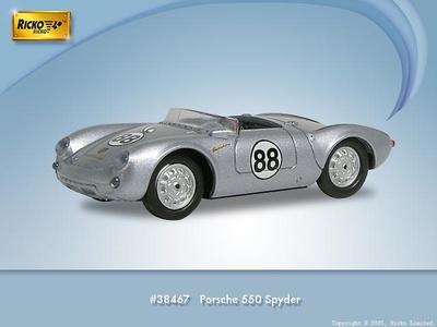 Porsche 550 Spyder nº 88 (1953) Ricko 1/87