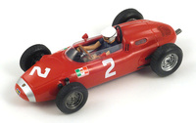 "Porsche 718 ""5º GP. Mónaco""  nº 2 Jo Bonnier (1962) Spark 1/43"