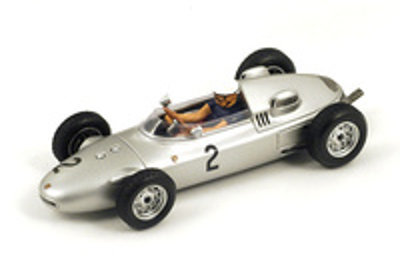"Porsche 787 ""GP. Mónaco"" nº 2 Jo Bonnier (1961) Spark 1:43"