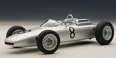 "Porsche 804 F1 ""GP. Alemania"" nº 8 Jo Bonnier (1962) Autoart 1:18"