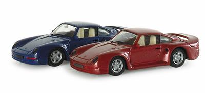 """Porsche 911 -959- (1986) """"High Tech"""" Herpa 033817 1/87"""