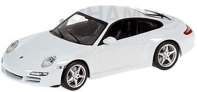"""Porsche 911 Carrera """"White Edition"""" -997- (2004) Minichamps 1/43"""