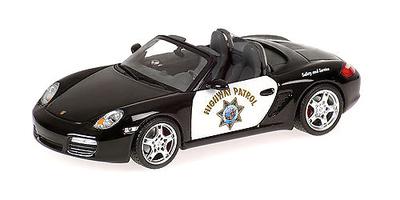 "Porsche Boxster S ""Highway Patrol"" (2007) Minichamps 1/43"