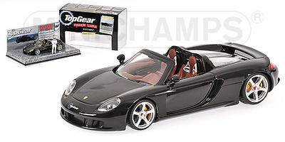 """Porsche Carrera GT """"Top Gear"""" (2009) Minichamps 1/43"""