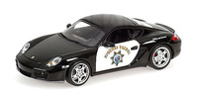 "Porsche Cayman S ""Highway Patrol"" (2007) Minichamps 1/43"