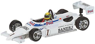Ralt RT3 Toyota Brithis Champion F3 nº 1 Ayrton Senna (1983) Minichamps 1/43