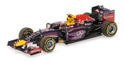 "Red Bull RB10 ""GP. Canadá"" nº 3 Daniel Ricciardo (2014) Minichamps 1:43"