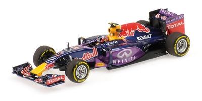 Red Bull RB11 nº 3 Daniil Kvyat (2015) Minichamps 1:43