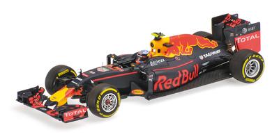 """Red Bull RB12 """"1º GP. España"""" nº 33 Max Verstappen (2016) Minichamps 1:43"""