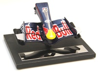 Red Bull RB3 Frontal del monoplaza (2007) Amalagam 1/12