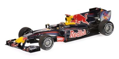 """Red Bull RB6 """"1º GP. Brasil"""" nº 5 Sebastian Vettel (2010) Minichamps 1/43"""
