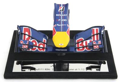 Red Bull RB6 Frontal del Monoplaza (2010) Amalgam 1/12