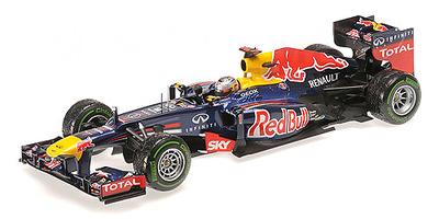"""Red Bull RB8 """"GP. Brasil"""" nº 1 Sebastian Vettel (2012) Minichamps 1:18"""