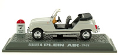 """Renault 4L Descapotable """"Plein Air"""" Abierto (1968) M6 1/43"""