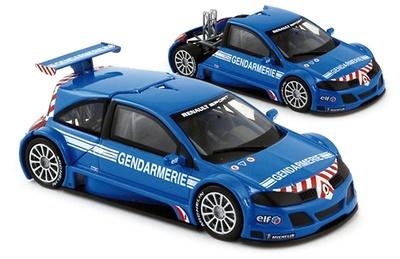 """Renault Megane Trophy """"Gendarmerie"""" (2004) Norev 1/43"""
