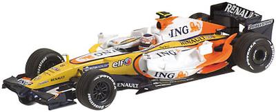 """Renault R28 """"Showcar""""  Nelson Piquet JR. (2008) Minichamps 1/43"""