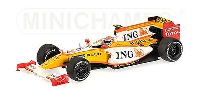 """Renault R29 """"Showcar"""" nº 8 Nelson Piquet (2009) Minichamps 1/43"""
