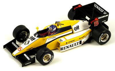 "Renault RE50 ""2º GP. Francia"" nº 15 Patrick Tambay (1984) Spark 1/43"