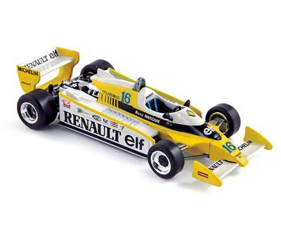 """Renault RS11 """"GP. Francia"""" nº 16 René Arnoux (1979) Norev 1/43"""