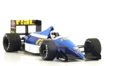 "Rial ARC02 ""4º GP. USA"" nº 38 Christian Danner (1989) Spark 1:43"