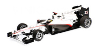 """Sauber C29 """"GP. Alemania"""" nº 22 Pedro de la Rosa (2010) Minichamps 1/43"""