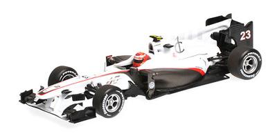 "Sauber C29 ""GP. Alemania"" nº 23 Kamui Kobayashi (2010) Minichamps 1/43"