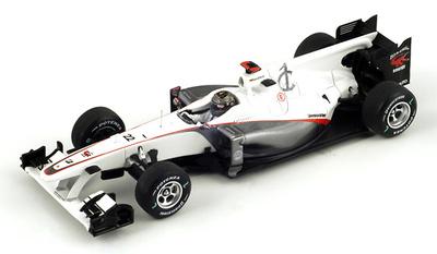 "Sauber C29 ""GP. Brasil"" nº 22 Nick Heidfeld (2010) Spark 1/43"