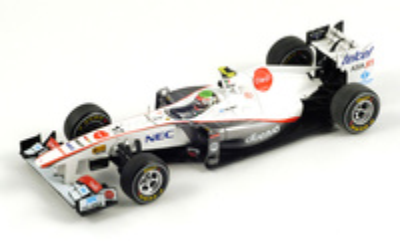 "Sauber C30 ""GP China"" nº 17 Sergio Perez (2011) Spark 1/43"