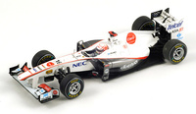 "Sauber C30 ""GP. China"" nº 16 Kamui Kobayashi (2011) Spark 1/43"