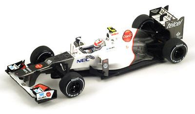"Sauber C31 ""2º GP Malasia"" nº 15 Sergio Pérez (2012) Spark 1/43"