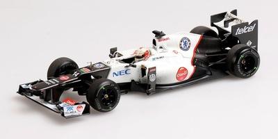 "Sauber C31 ""3º GP. Japón"" nº 14 Kamui Kobayashi (2012) Minichamps 410120114 1:43"