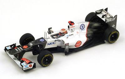 "Sauber C31 ""GP Mónaco"" nº 14 Kamoi Kobayashi (2012) Spark 1/43"