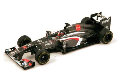 "Sauber C32 ""GP. Australia"" nº 11 Nico Hulkenberg (2013) Spark 1:43"