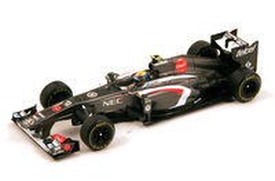 "Sauber C32 ""GP. Australia"" nº 12 Esteban Gutierrez (2013) Spark 1:43"
