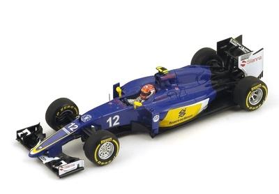 "Sauber C34 ""GP. Australia"" n° 12 Felipe Nasr (2015) Spark 1:43"