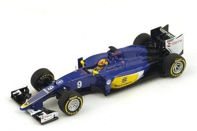 """Sauber C34 """"GP. Australia"""" n°9 Marcus Ericsson (2015) Spark 1:43"""