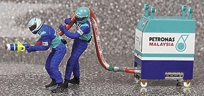 Sauber Pitstop Carga Gasolina (2002) Minichamps 1/43