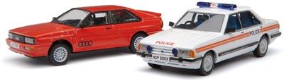 Set Ford Granada y Audi Quattro (1981) Corgi 1/43