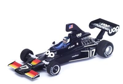 """Shadow DN5 """"GP. Brasil"""" n°17 Jean-Pierre Jarier (1975) Spark 1:43"""